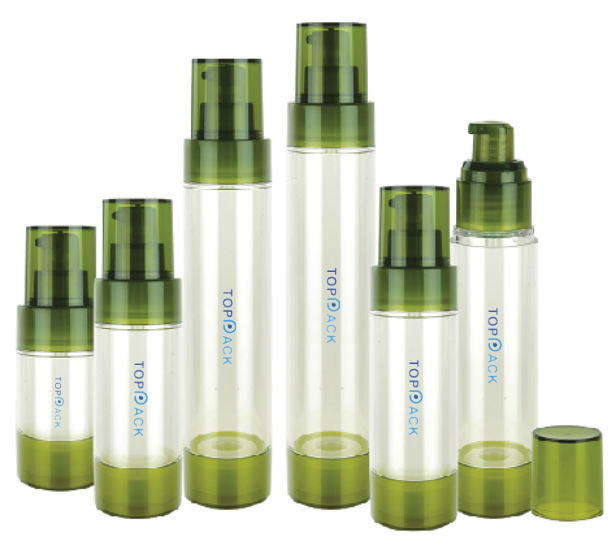 New PP Round Airless Bottle sets-P91102